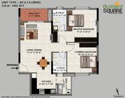 Valmark Orchard Square Premium 2 and 3 BHK Apartments in JP Nagar