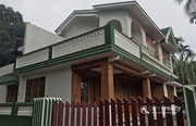 Two story 5 bhk house in Bathery @ 95 lakh.