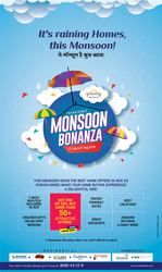 Monsoon Bonanza Offer on Residential and Commercial Property