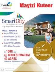 Hmda Layout With Gated Community @ Maheswaram .9391366679