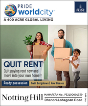 Twin-Bungalows in Charholi Pune - Notting Hill-Pride World City