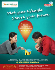 A premium Gated Community Open Plots @Near Maheshwaram