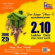 Residential land for sale at myleripalayam